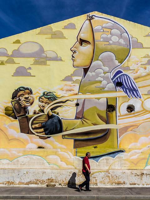 Spain - Malaga - Adolfo Suarez Bulevar