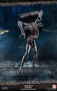 「前有寶藏。」First 4 Figures《黑暗靈魂》貪欲者 雕像 全身版 / 擬態版 雕像(MIMIC;寶箱怪)