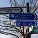 Woodmansterne Road signage