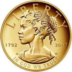 2017 American Liberty $100 obverse