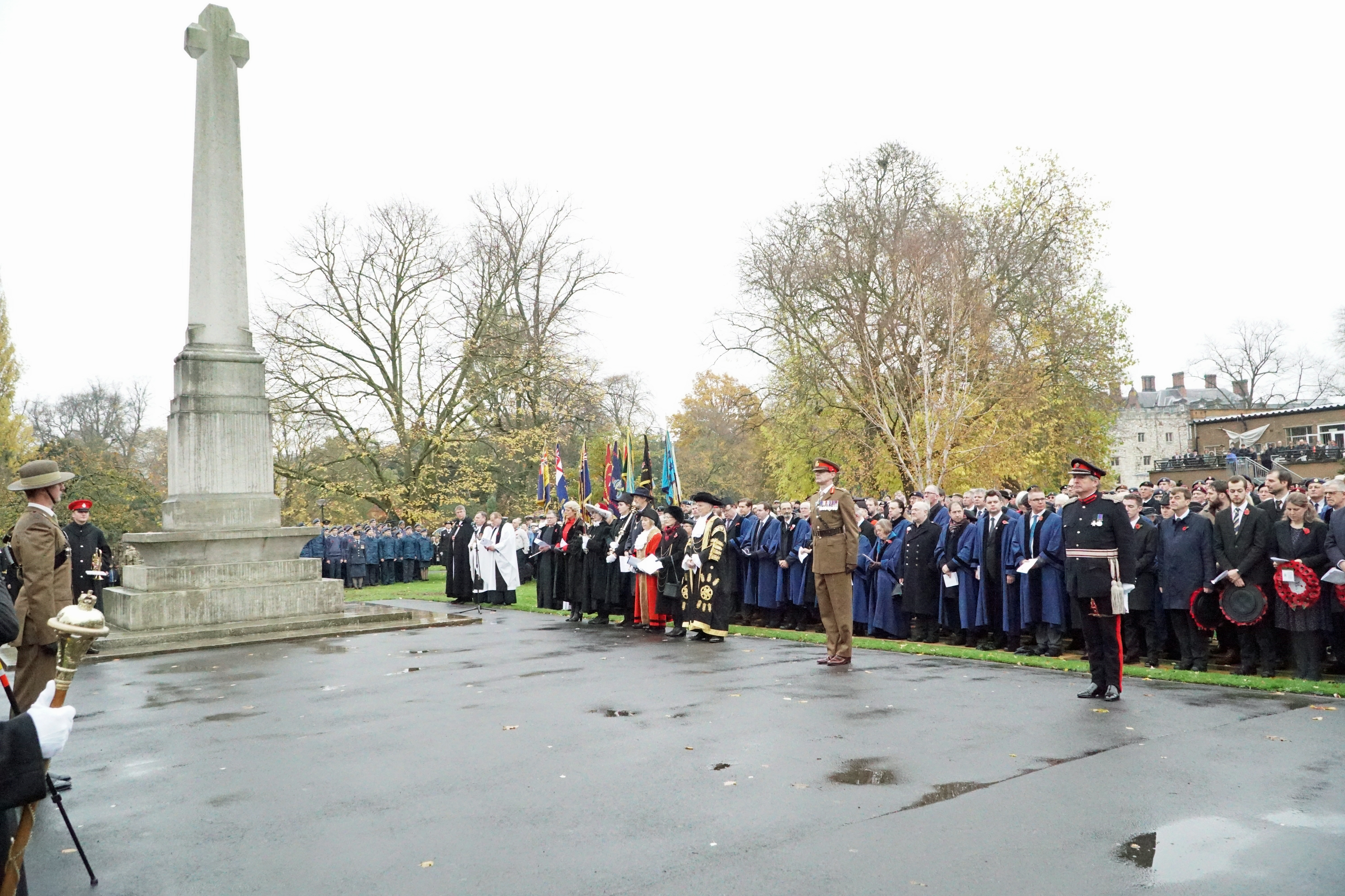 Service of Thanksgiving and Commemoration to mark the Centenary of the Armistice