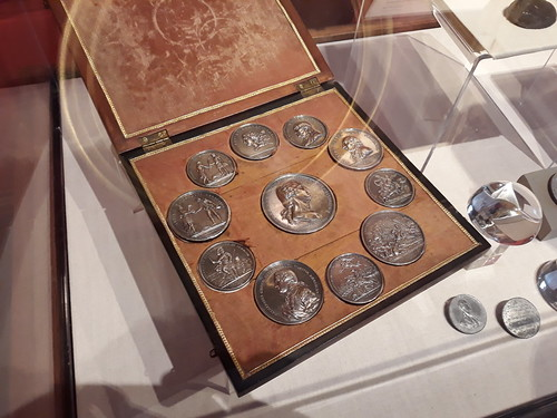 MCA 2018 Boston conference Washington's silver Comitia Americana medal set