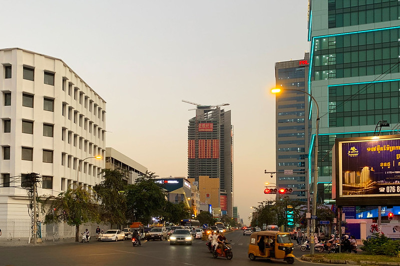 Gold Tower - Phnom Penh