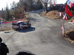 Kris Meeke at Basse Correo Stage on Monte-Carlo Rally (9) - Photo of Lettret