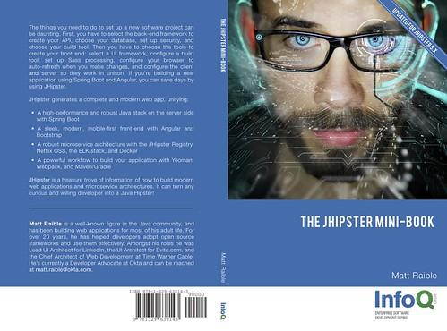 JHipster Mini-Book v5.0 Cover