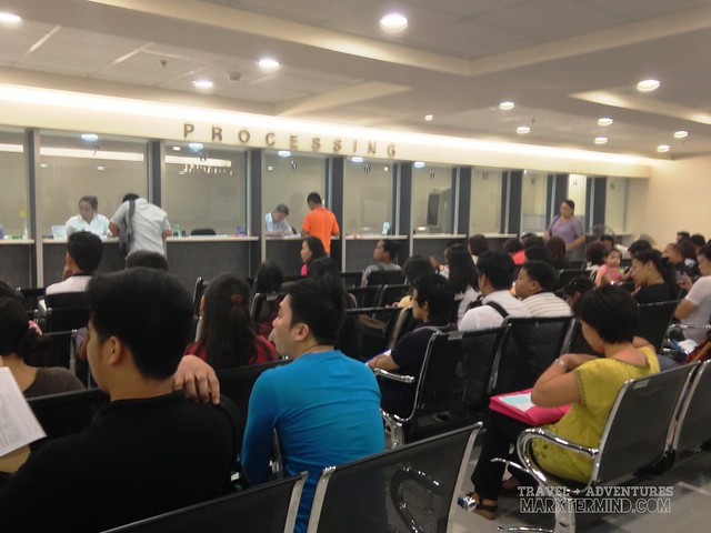 DFA Megamall Passport Processing