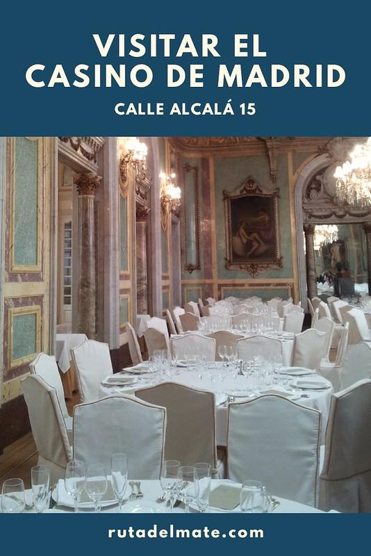 Visitar el Casino de Madrid