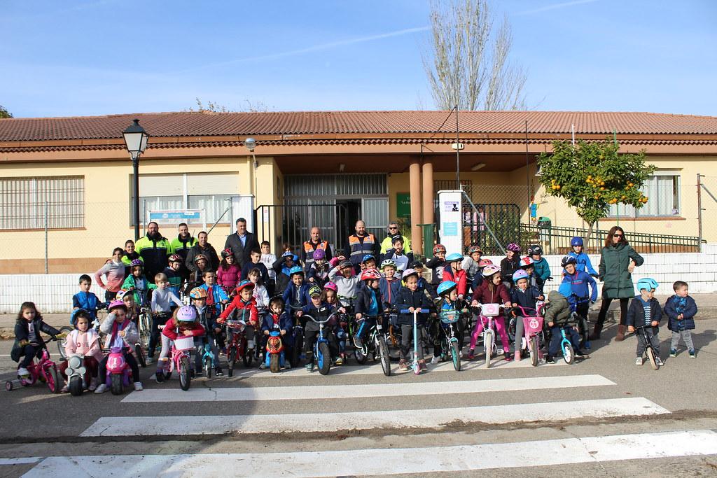 En la mañana de este martes ha tenido lugar la clausura del Programa de Educación Vial en el CEIP La Acequia de Puebla de Argeme
