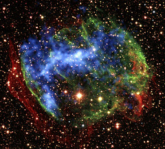 Supernova Remnant W49B. Original from NASA. Digitally enhanced by rawpixel.