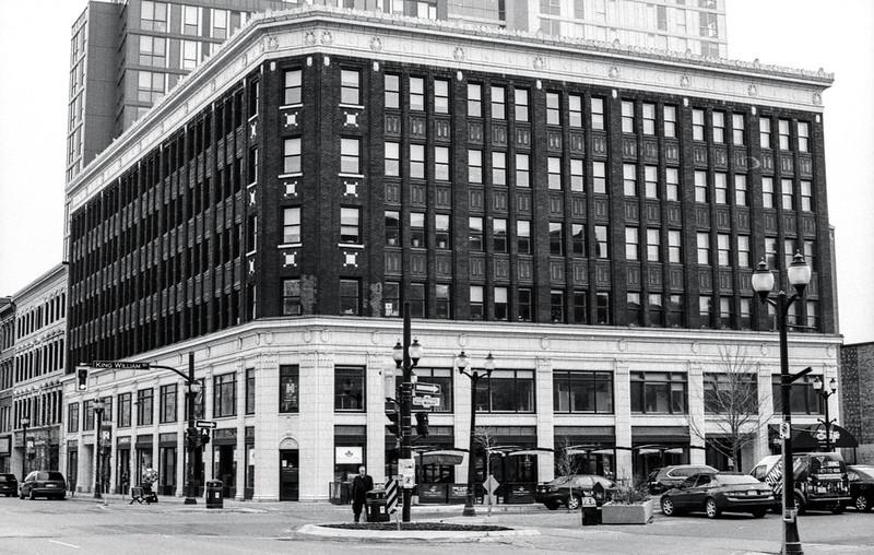 Restored Lister Block Office Building