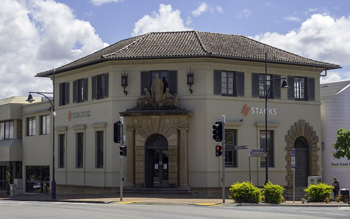 Former AMP Insurance Building, Taree NSW, built 1920's