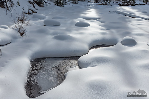 Creek and Snow Lumps