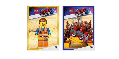 The LEGO Movie 2 Awesome Trading Cards (5005775)