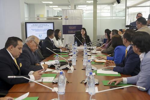 SESIÓN DE LA COMISIÓN DE RELACIONES INTERNACIONALES, QUITO 14 DE MARZO DEL 2019