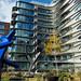 Architect Zaha Hadid's building at 520 W 28th. NYC