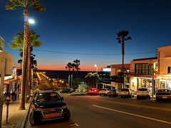 Manhattan Beach at Dusk