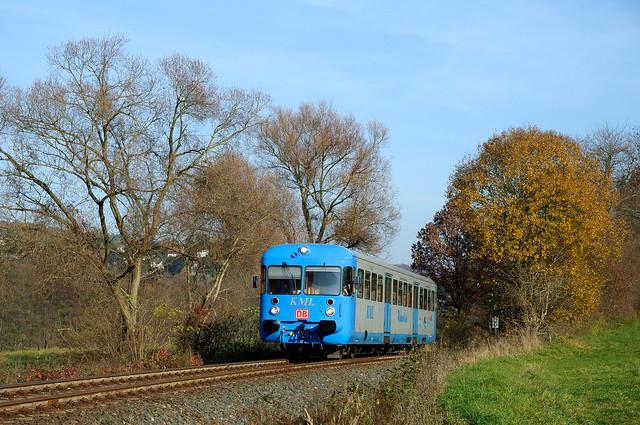 KML VT 408, RB Klostermansfeld - Wippra,  Biesenrode