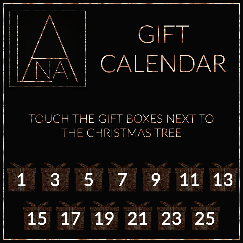 #LANA // 2018 Gift Calendar ♥