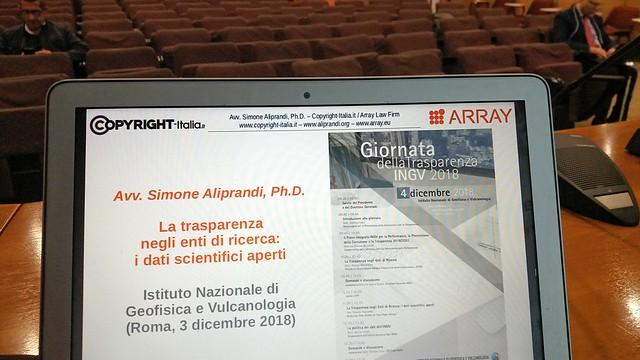 Giornata della trasparenza (INGV, 04/12/2018)