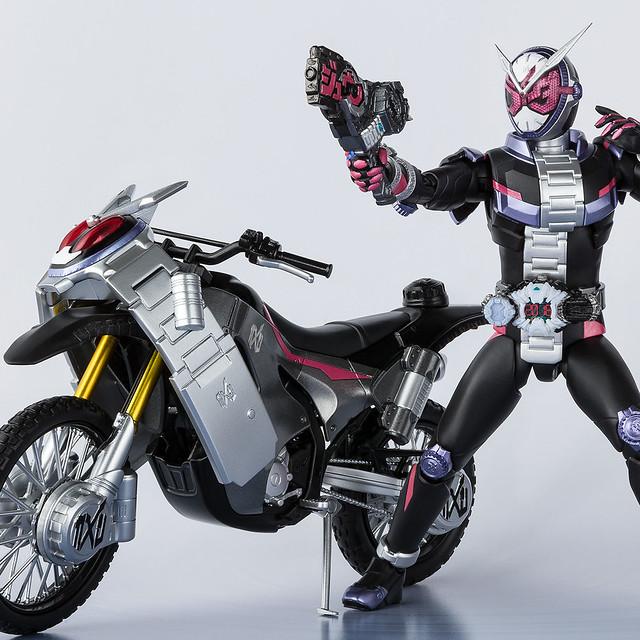 S.H.Figuarts 《假面騎士ZI-O》「Ride Striker&時間斬劍 /時間斬斧」套裝組!ライドストライカー&ジカンギレード/ジカンザックスセット