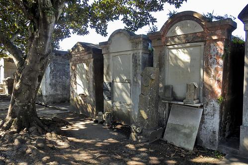 louisiana usa neworleansla streetviews street neworleans city outdoor cemetery tomb tombstone tombstones lafayette lafayettecemetery restingplace serene gardendistrict tree