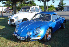 Alpine Renault Berlinette A110 - Photo of Saint-Rémy