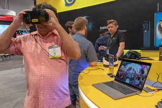 Insta360 booth | by peterl
