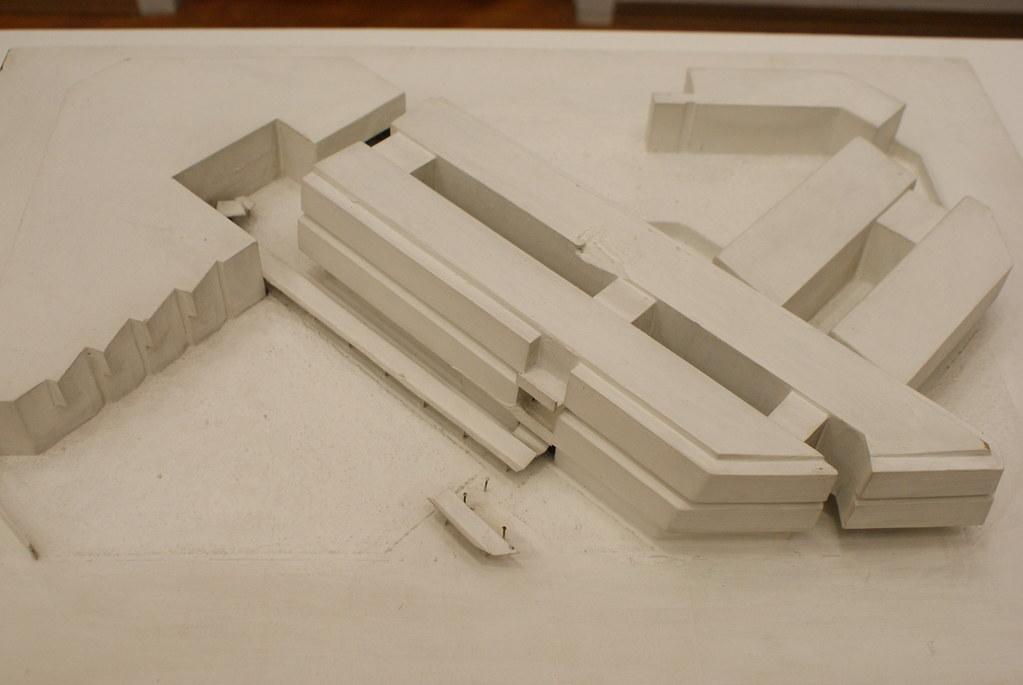 Maquette du Gam Torino, Musée d'art moderne et contemporain à Turin.