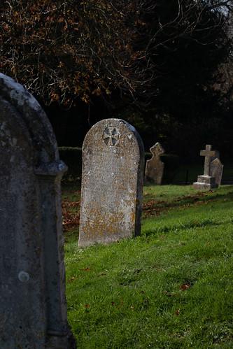 Jane Clements headstone, Litton Cheney