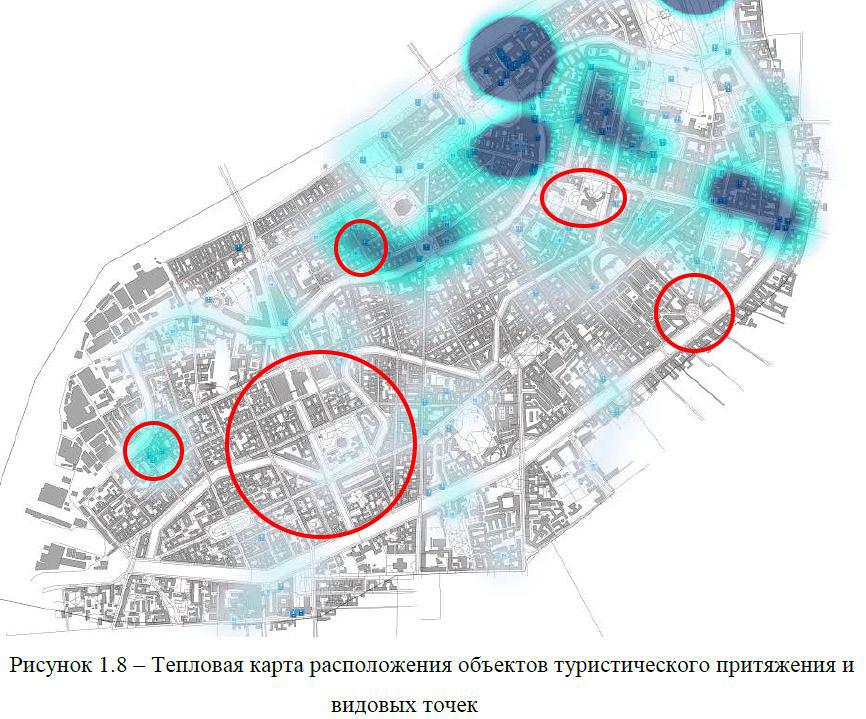 пешеходы - точки притяжения 4