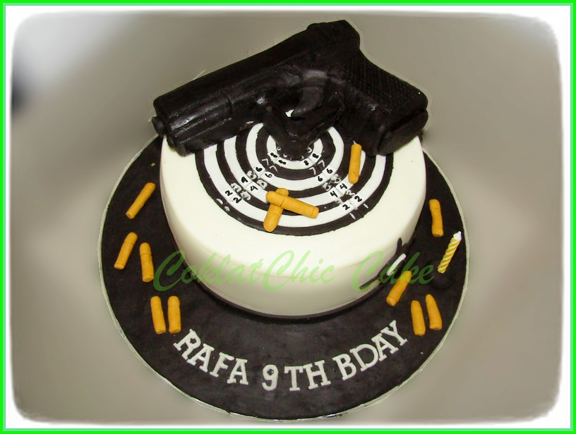 Cake Pistol RAFA 15 cm