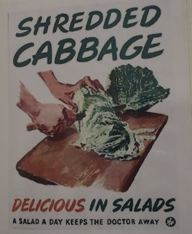 WW2 cabbage poster