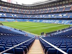 Estadio Santiago Bernabéu.- Madrid.