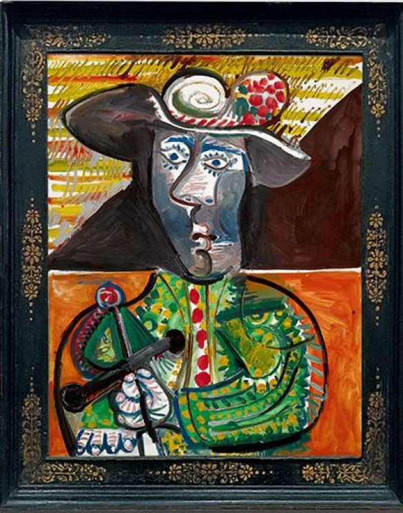 PabloPicassoLeMatadorOilOnCanvasPainted23October1970