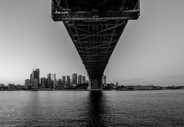 Harbour Bridge and Sydney, Fujifilm X-T2, XF14mmF2.8 R