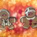 gingerbread kids Christmas art 10 by Anne Davis 773