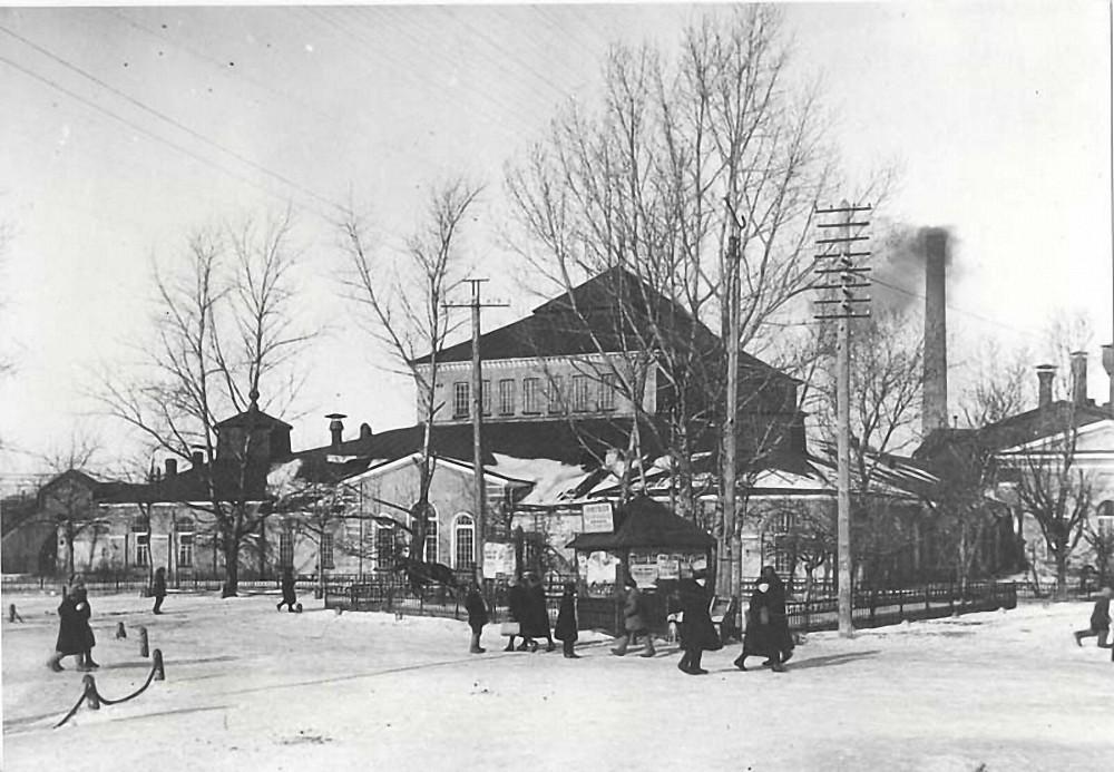 Вид на Ижорский завод