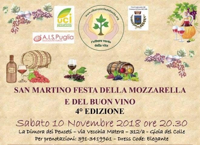 San Martino: festa della mozzarella e del buon vino