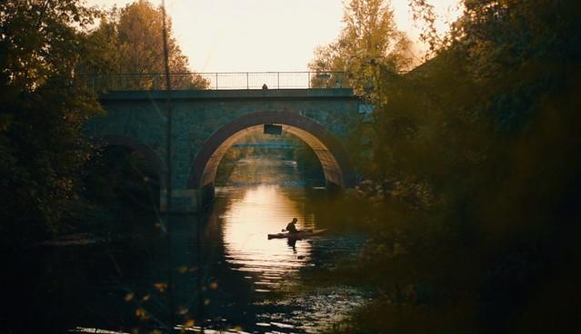 Stimmungsfilm Herbst Karl-Heine-Kanal