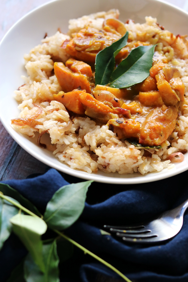 Pumpkin, Black-Eyed Pea, and Coconut Curry