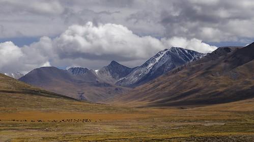 Landscape of Machen county, Tibet 2018
