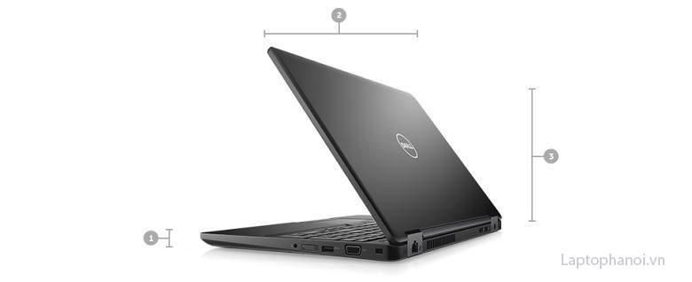 kích thước và trọng lượng Dell 5590