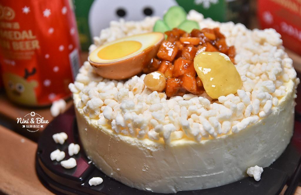 85度C滷肉飯蛋糕 金牌台灣啤酒耶誕版09