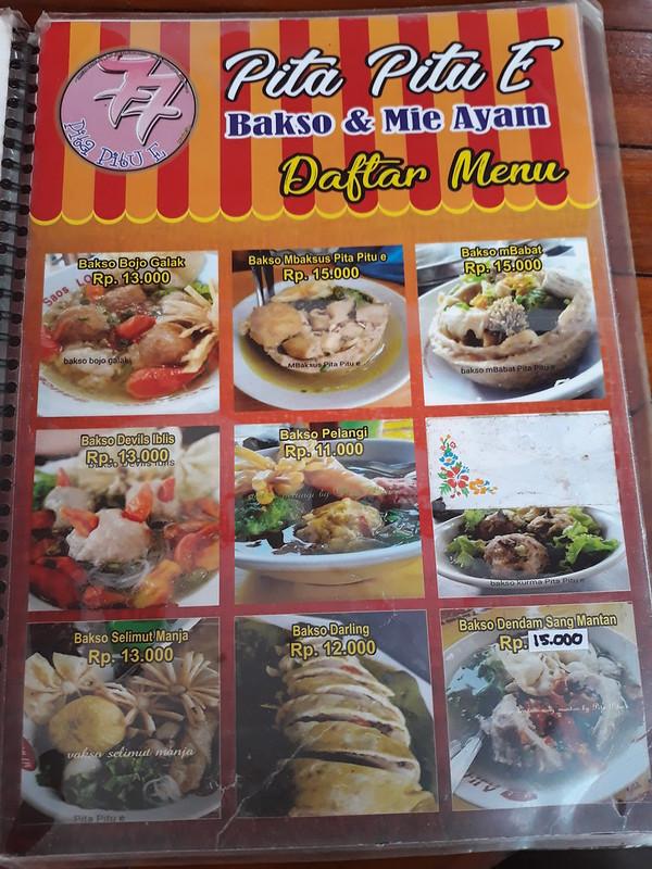Kuliner Bojonegoro Bakso Durian Pita Pitu E Food Travel And