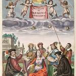 Atlas Coelestis Seu Harmonia Macrocosmica by Andreas Cellarius - 1660