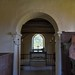 008-20180927_Little Washbourne Church-Gloucestershire-Chancel Arch, with view through to Chancel & Sanctuary, viewed from centre of Nave