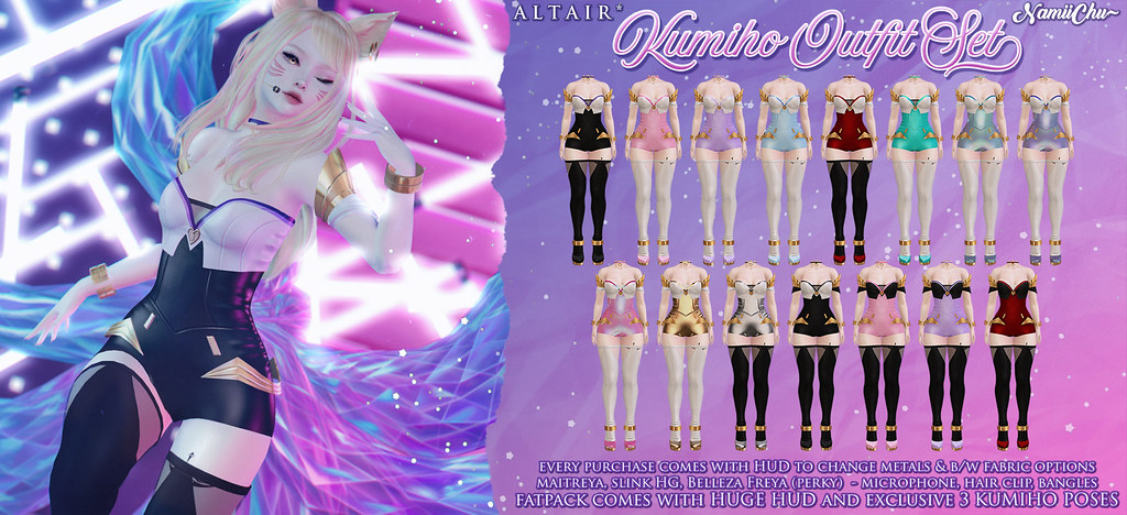 ALTAIR* & NamiiChu ~ Kumiho Outfit Set @equal10 now!