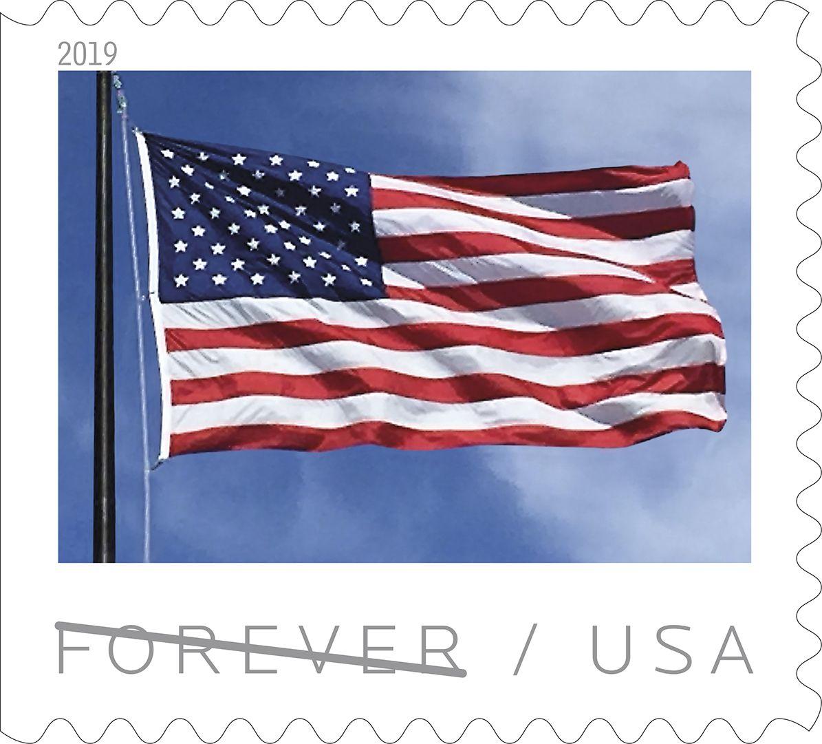 U.S. Flag - January 27, 2019