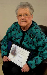 "Thu, 01/03/2019 - 14:04 - Betsy Hoffman, the Carlton town historian, received the C.W. ""Bill"" Lattin Award for Excellence in Municipal History."