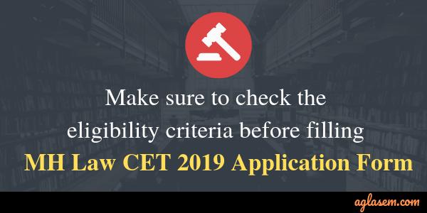 MH Law CET 2019 Eligibility Criteria